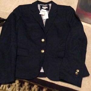 J crew blazer size 4 new with tags